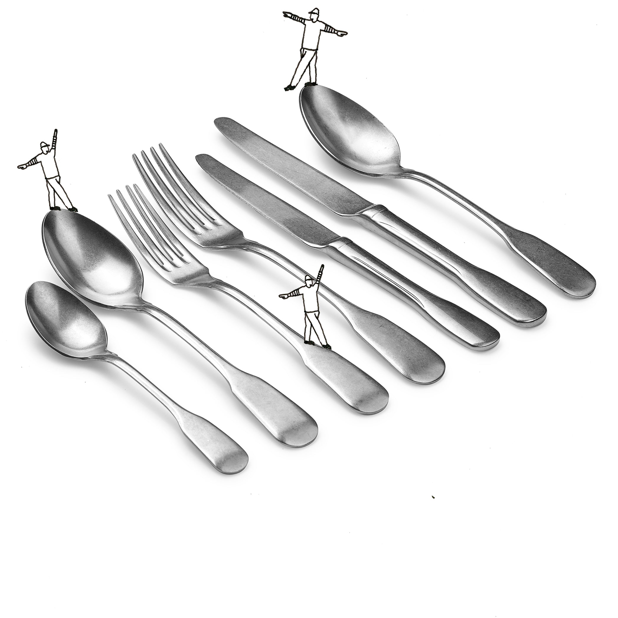 S&B 7 Piece Cutlery Set in Stainless Steel