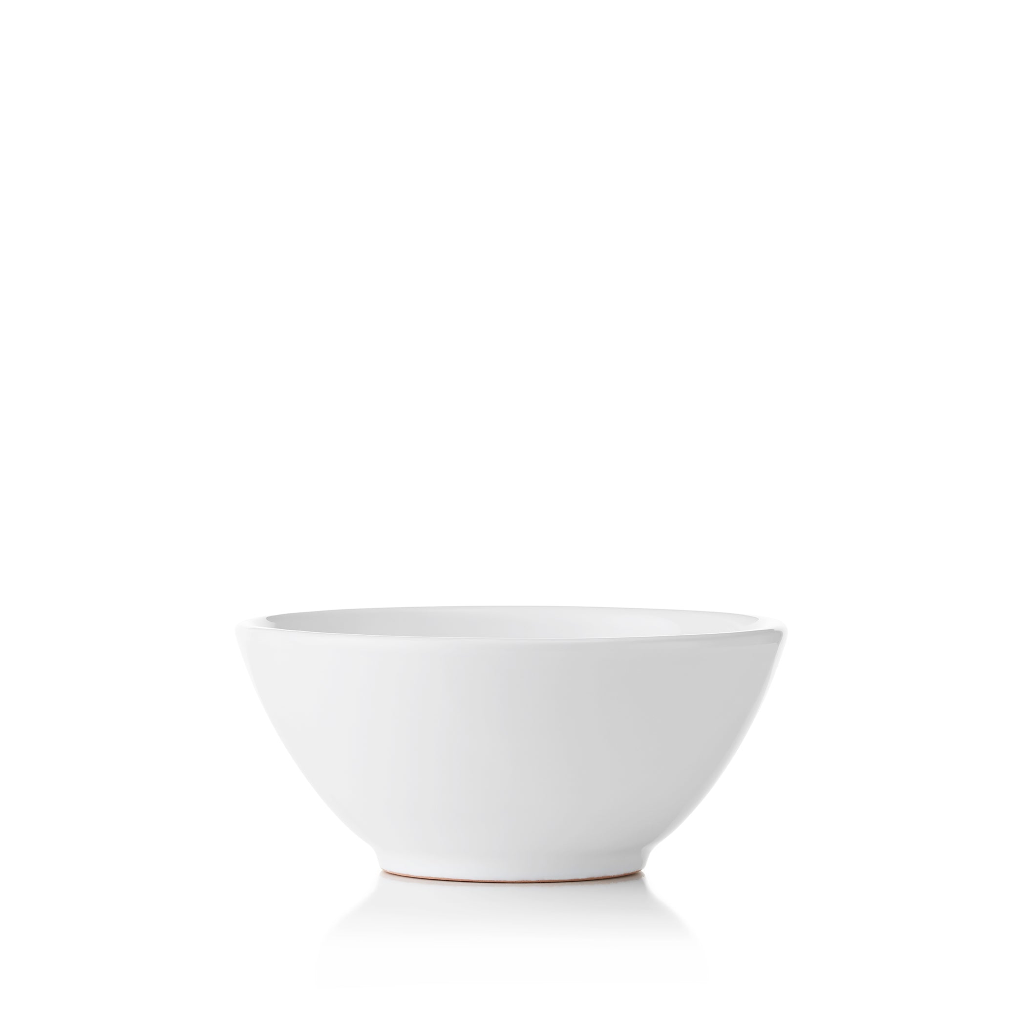 S&B Plain White Ceramic Cereal Bowl, 17.5cm