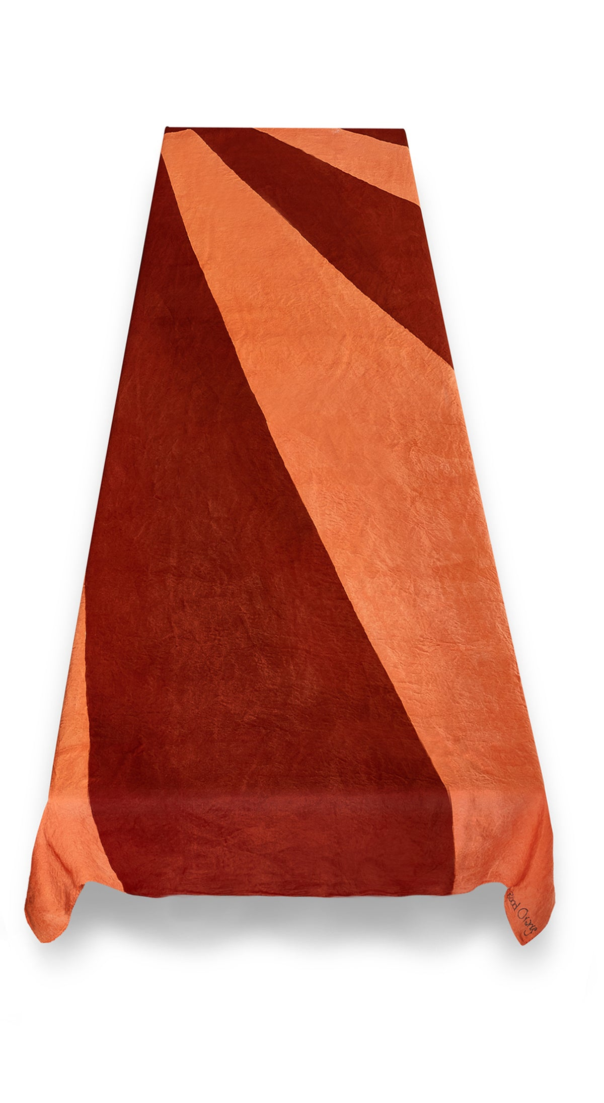 """Blood Orange"" S&B x Skye Gyngell Linen Tablecloth"