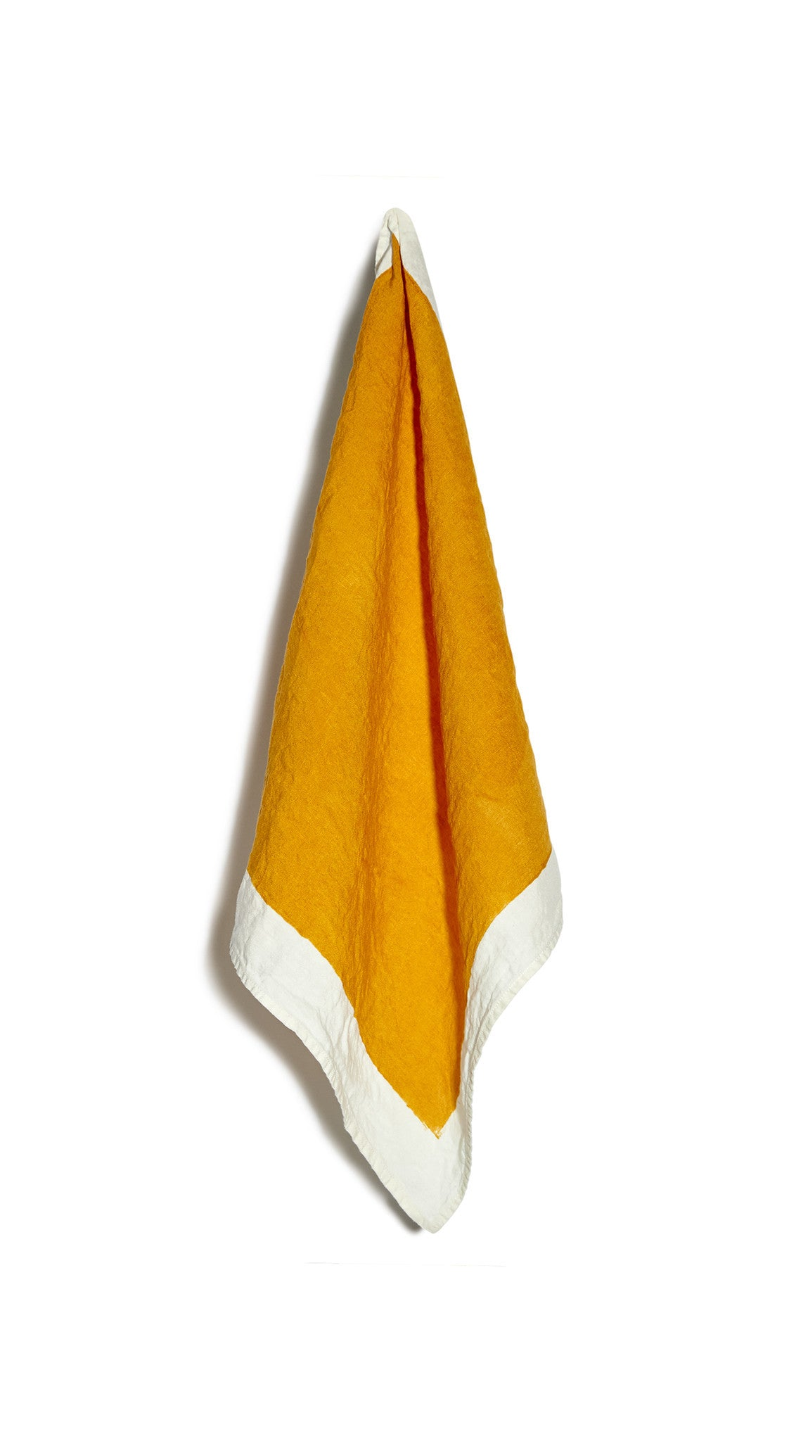 Full Field Linen Napkin in Mustard Yellow