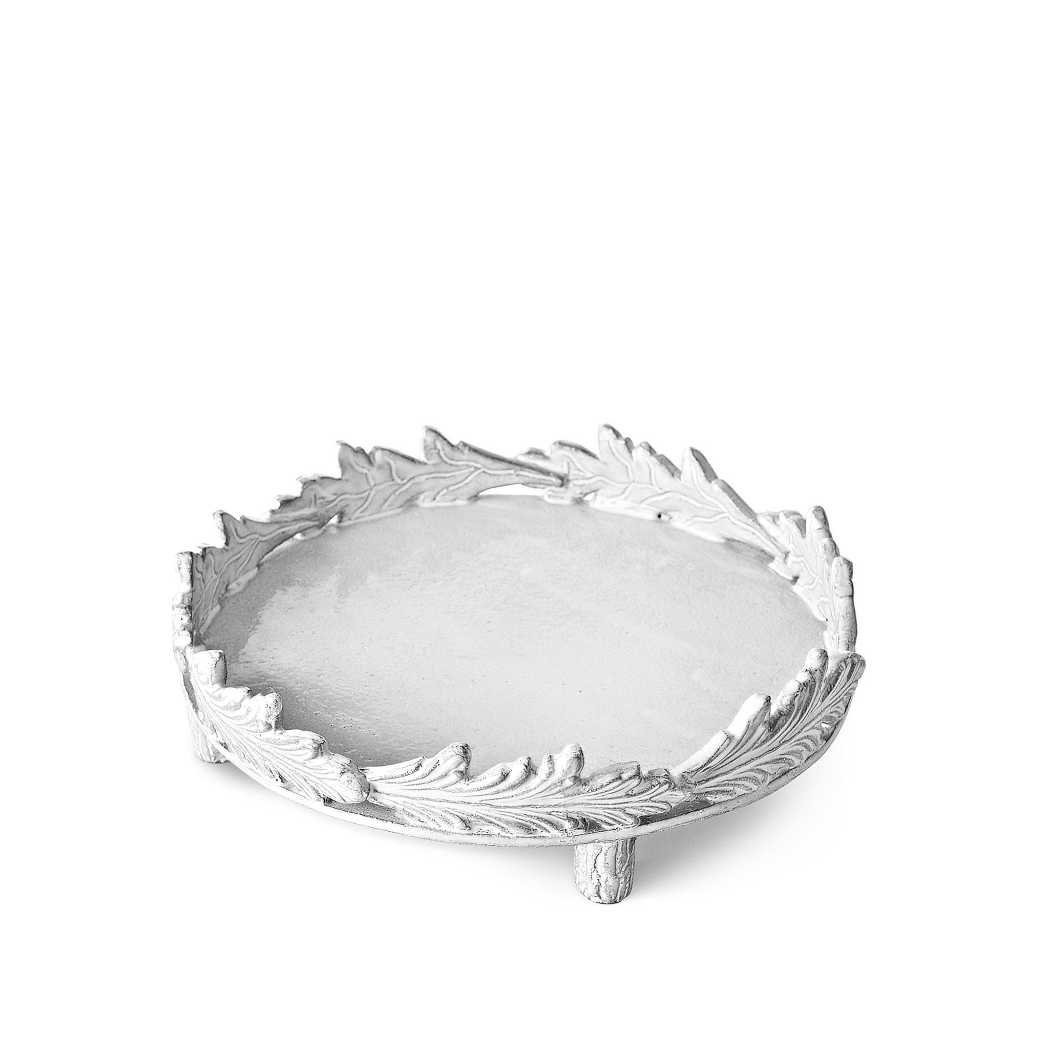 Setsuko Round Leaf Platter with Feet by Astier de Villatte