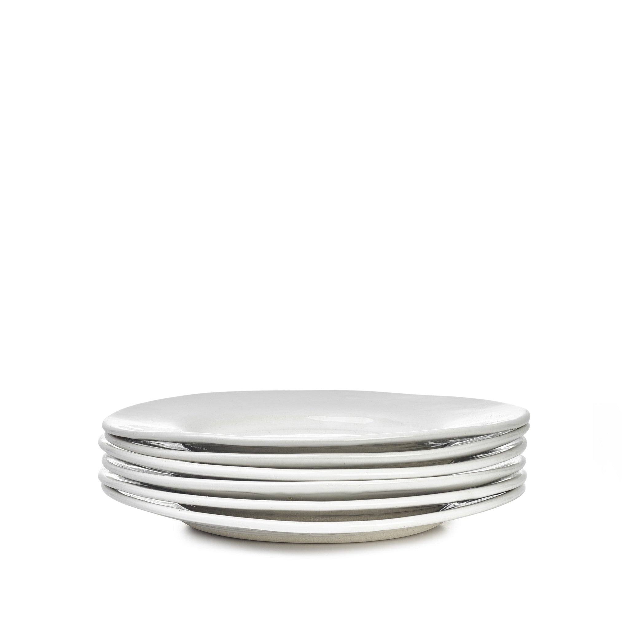 Wonki Ware Side Plate in White, 23cm