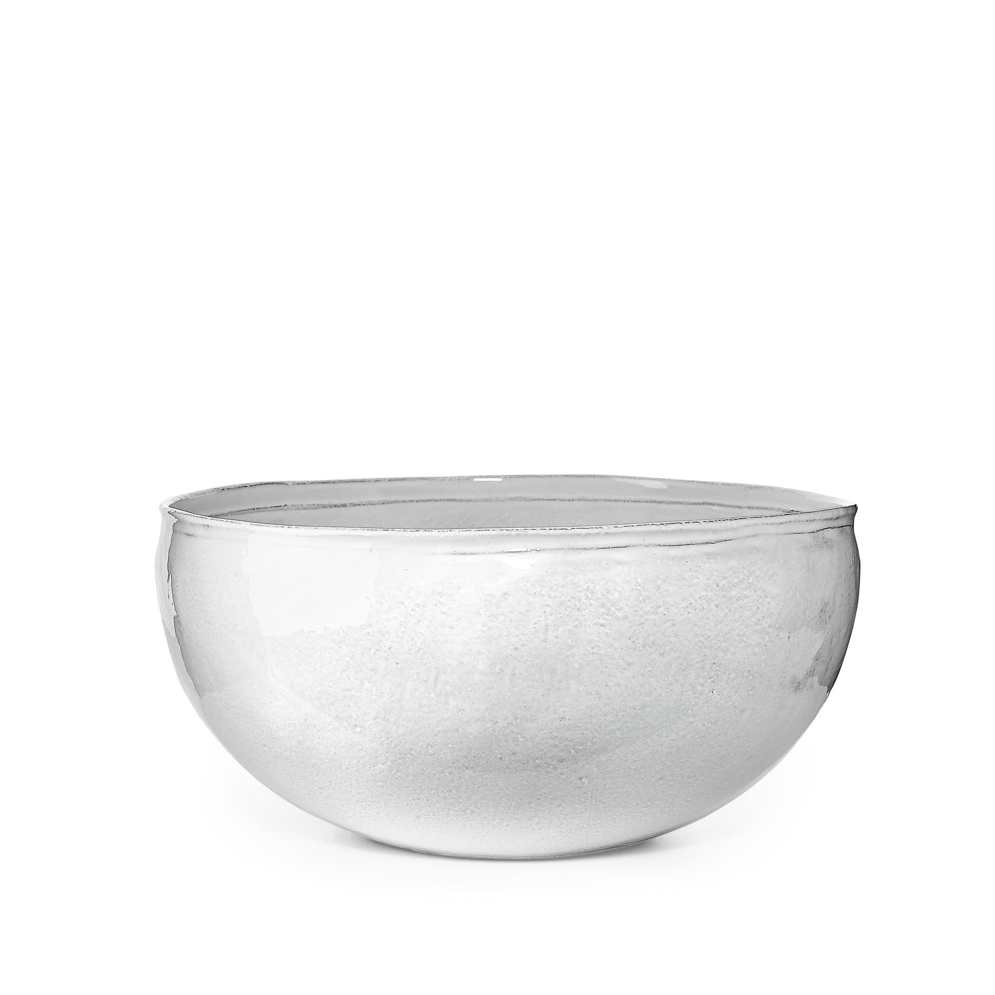 Simple Large Salad Bowl by Astier de Villatte