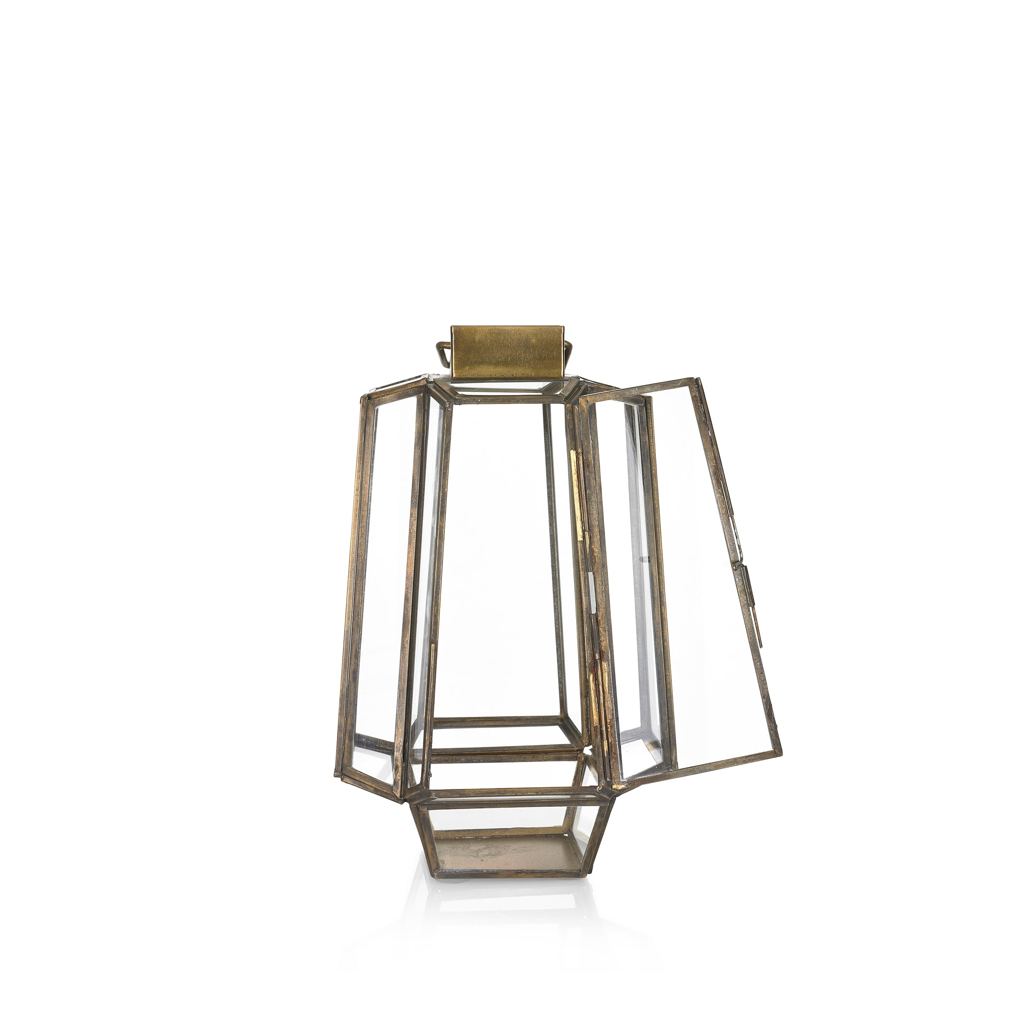 Bronte Lantern in Brass, Small