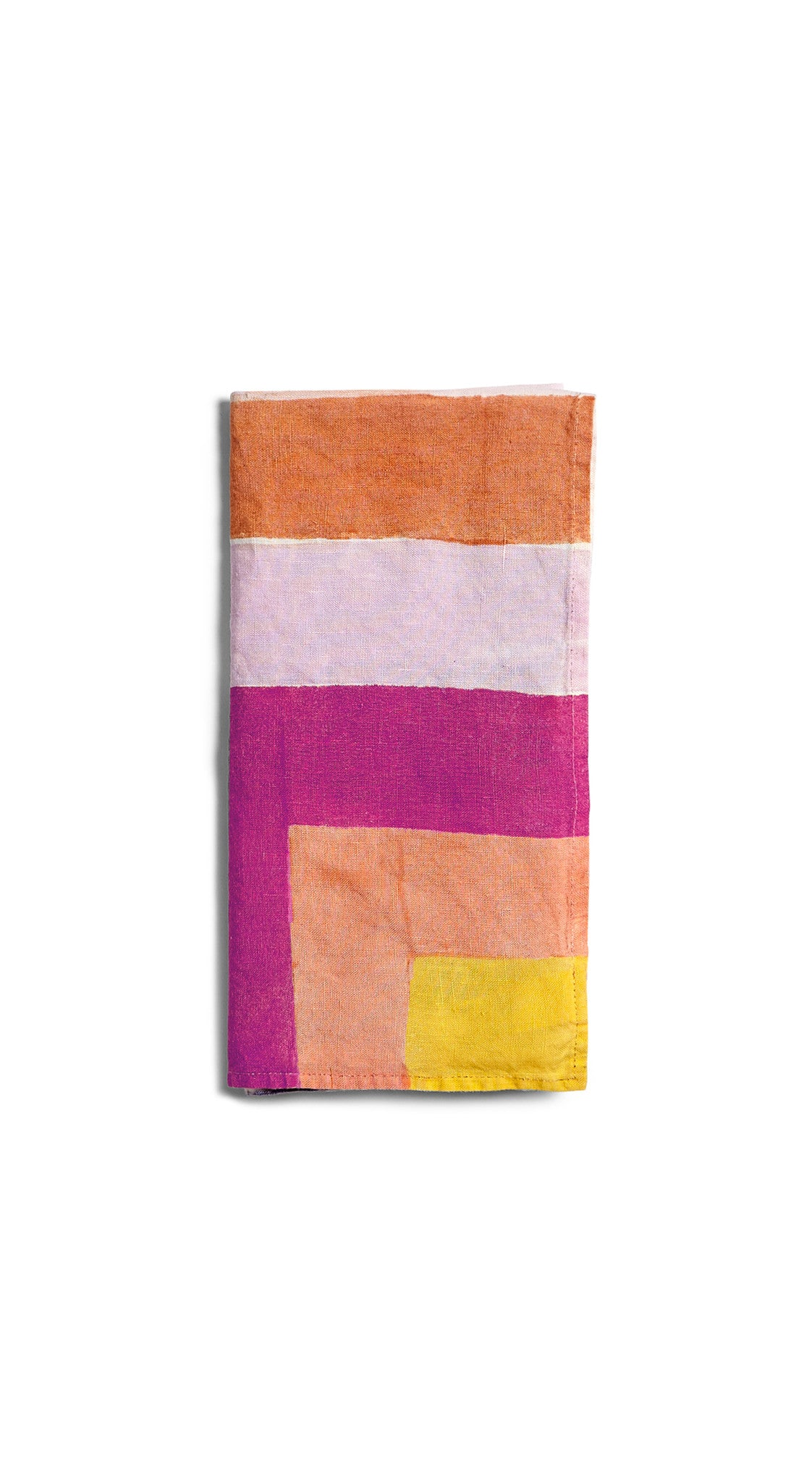 """Bleeding Stripes"" S&B x Solange Linen Napkin"