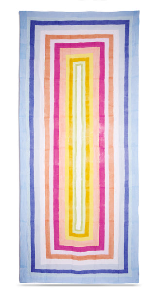 """Bleeding Stripes"" S&B x Solange Linen Tablecloth"