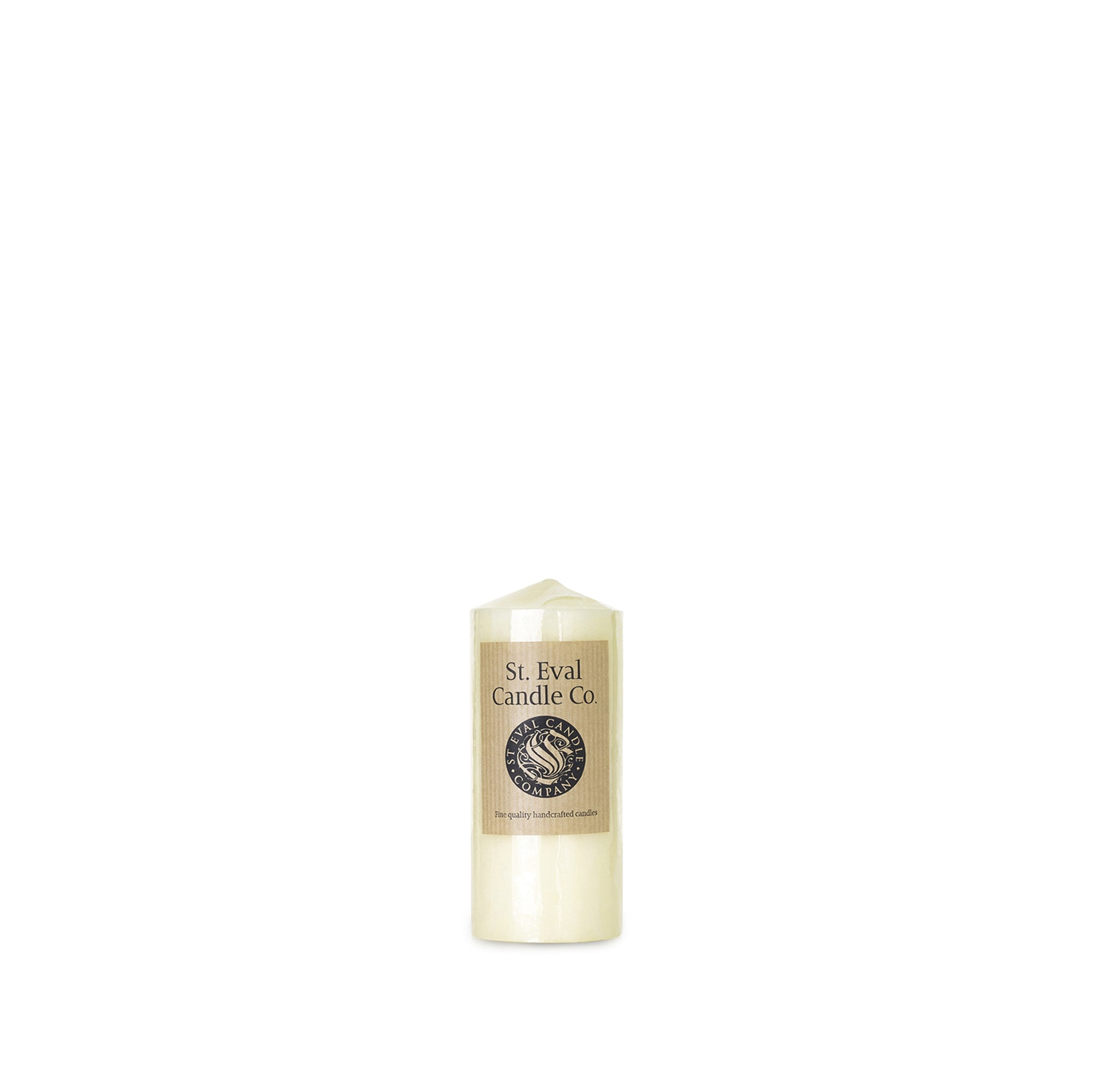 Medium Church Candle in Ivory