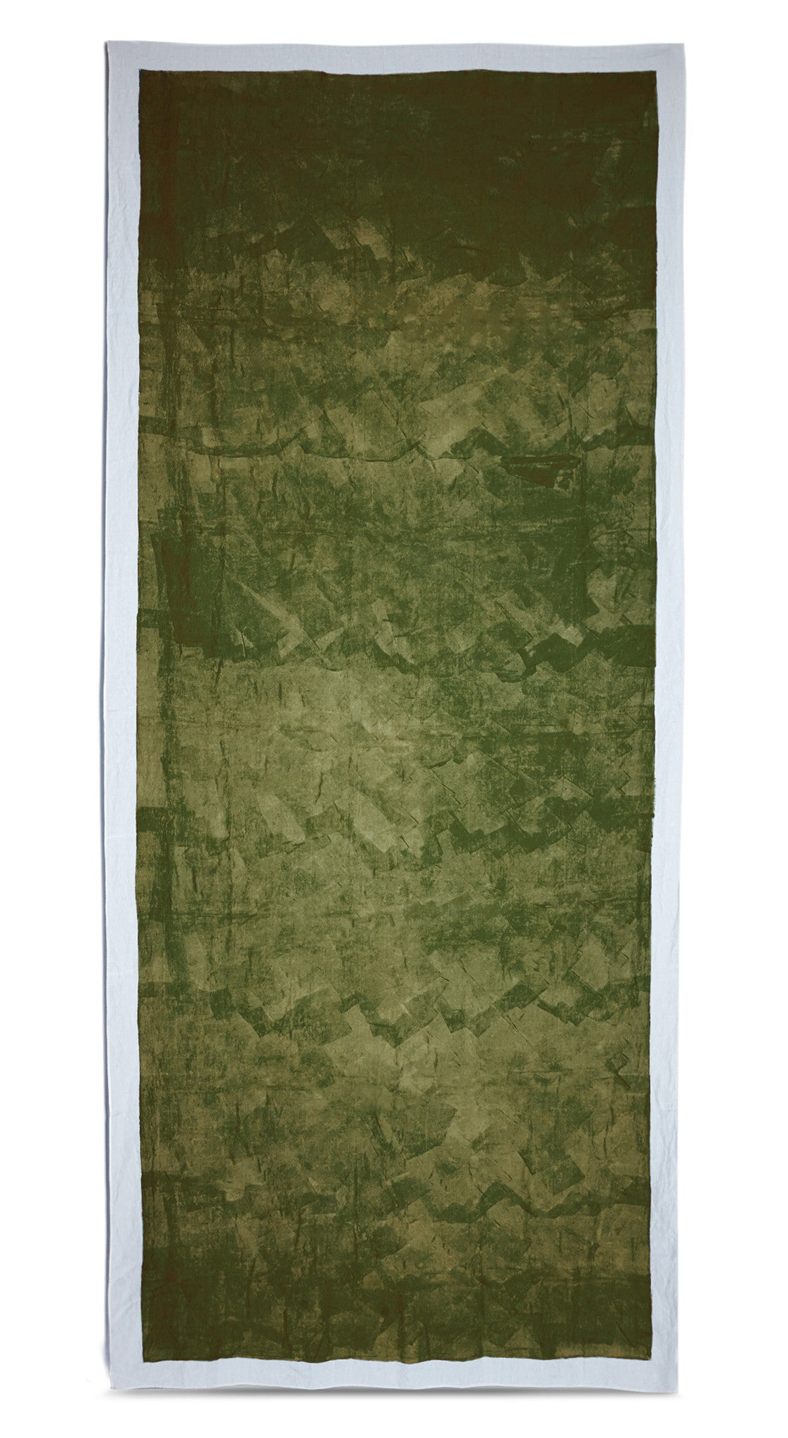 Full Field Linen Tablecloth in Avocado Green