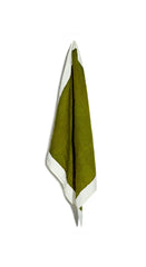 Full Field Linen Napkin in Avocado Green