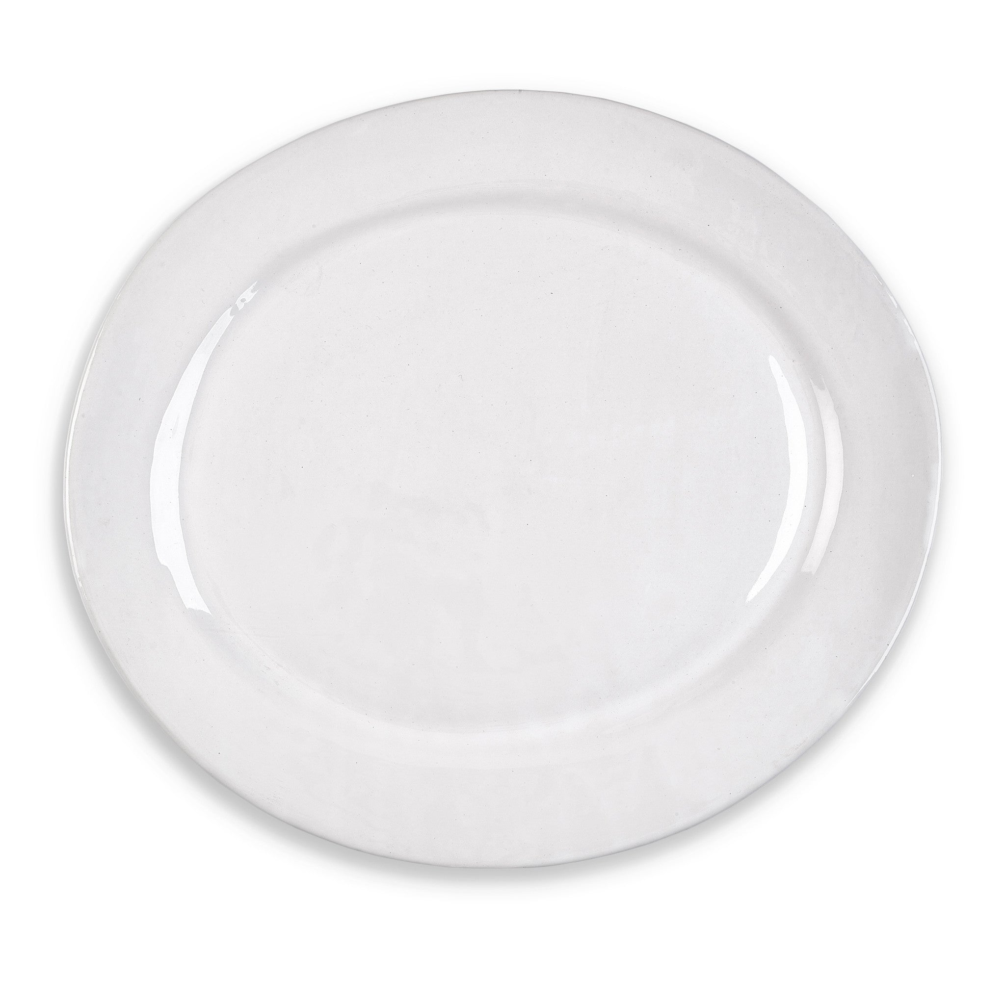 Wonki Ware Extra Large Oval Platter in White, 50cm