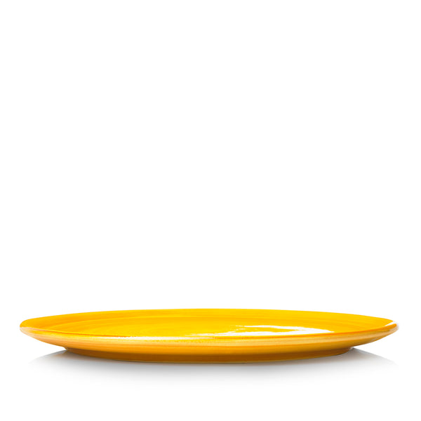 "S&B ""La Couronne"" 29cm Ceramic Tart / Cake Plate in Yellow"
