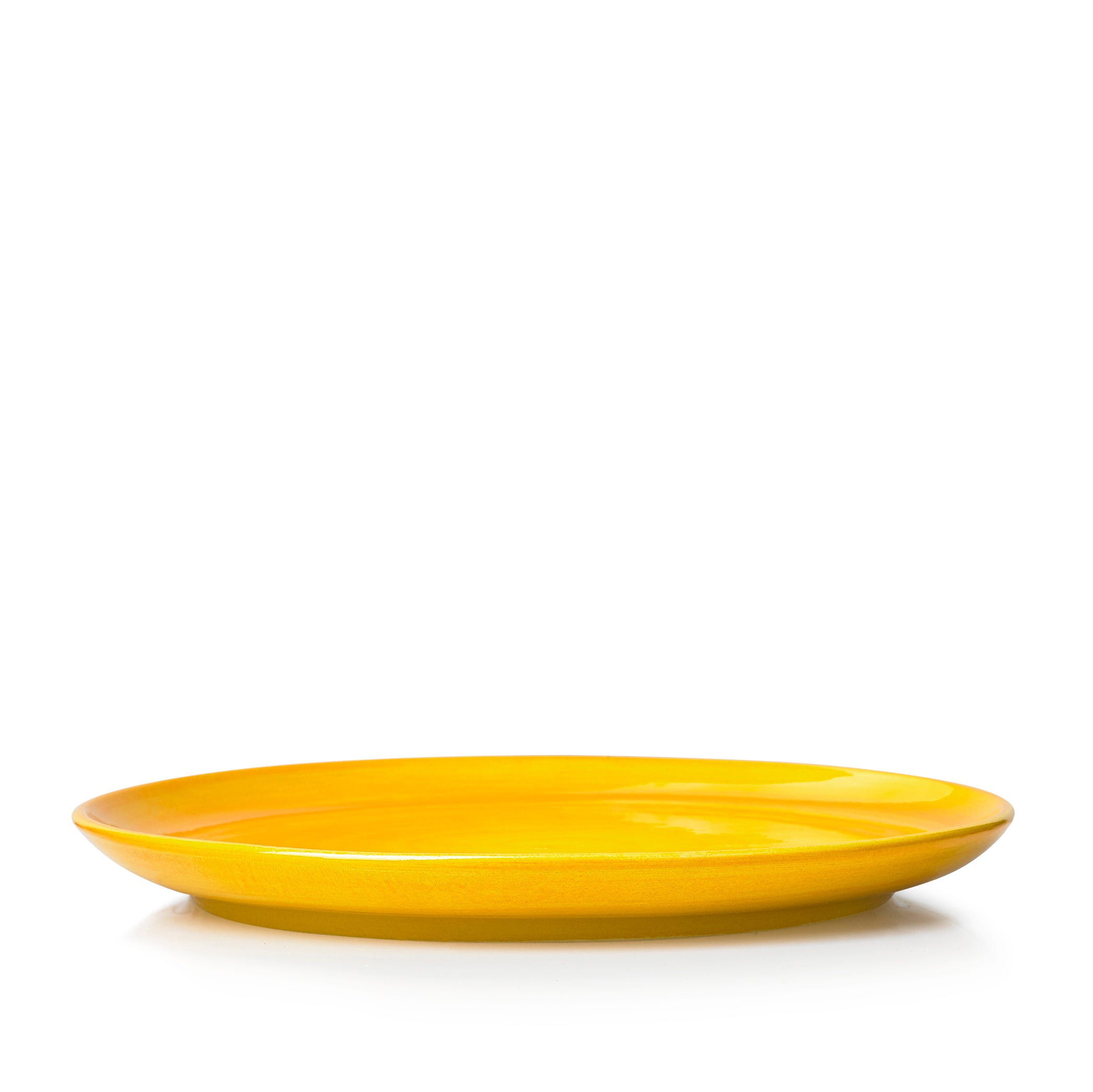 "S&B ""La Couronne"" 26cm Ceramic Dinner Plate in Yellow"