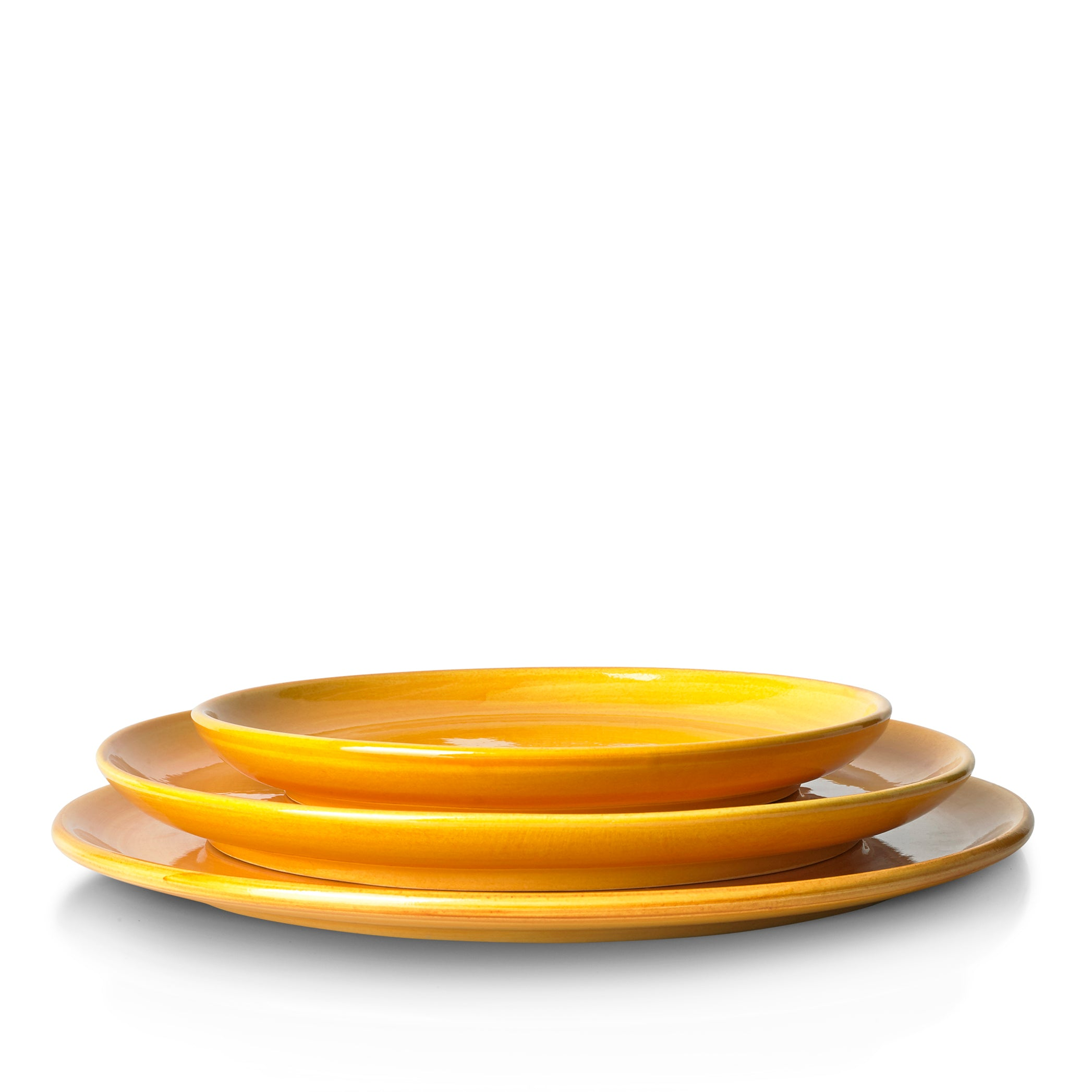 "S&B ""La Couronne"" 20cm Ceramic Side Plate in Yellow"