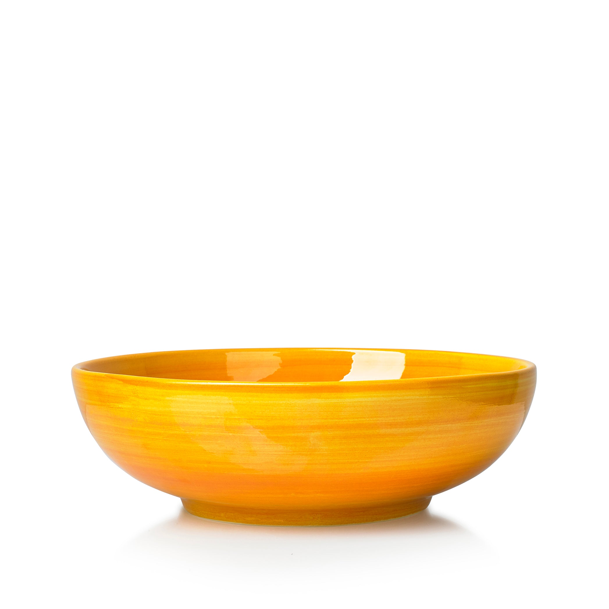 "S&B ""La Couronne"" 25cm Ceramic Serving Bowl in Yellow"