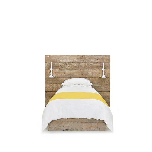 """S&B Classic"" Linen Bed Set in Lemon Yellow, Single"