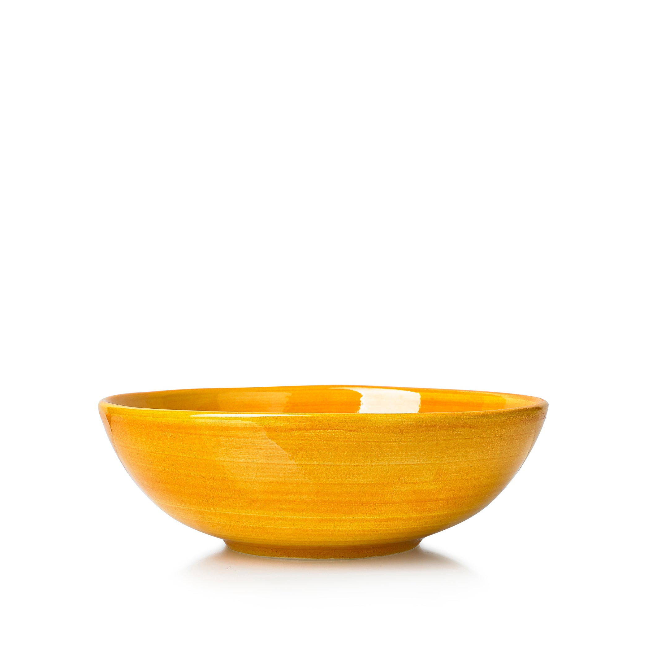 "S&B ""La Couronne"" 18.5cm Ceramic Soup Bowl in Yellow"