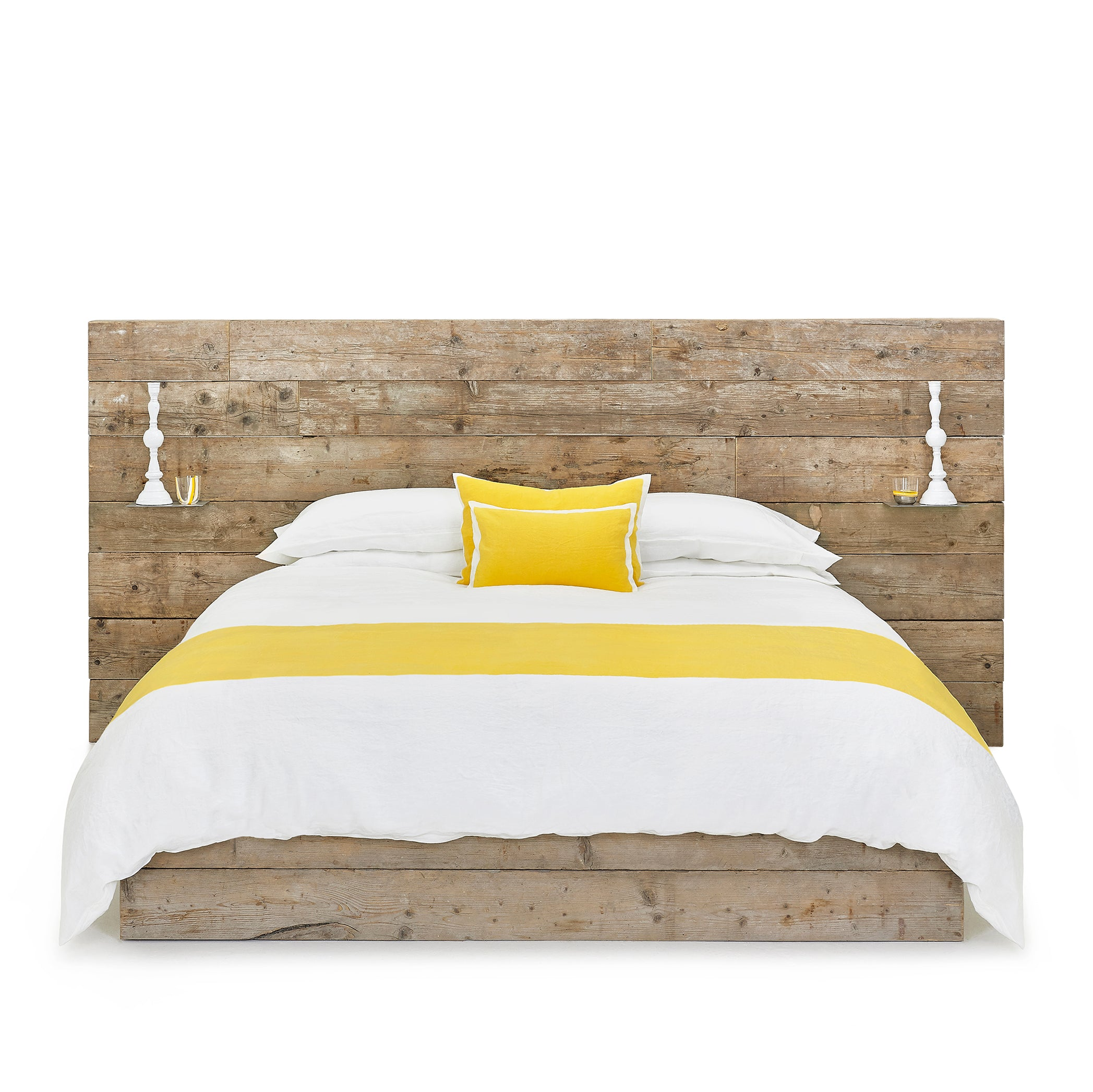 """S&B Classic"" Linen Bed Set in Lemon Yellow, Emperor"