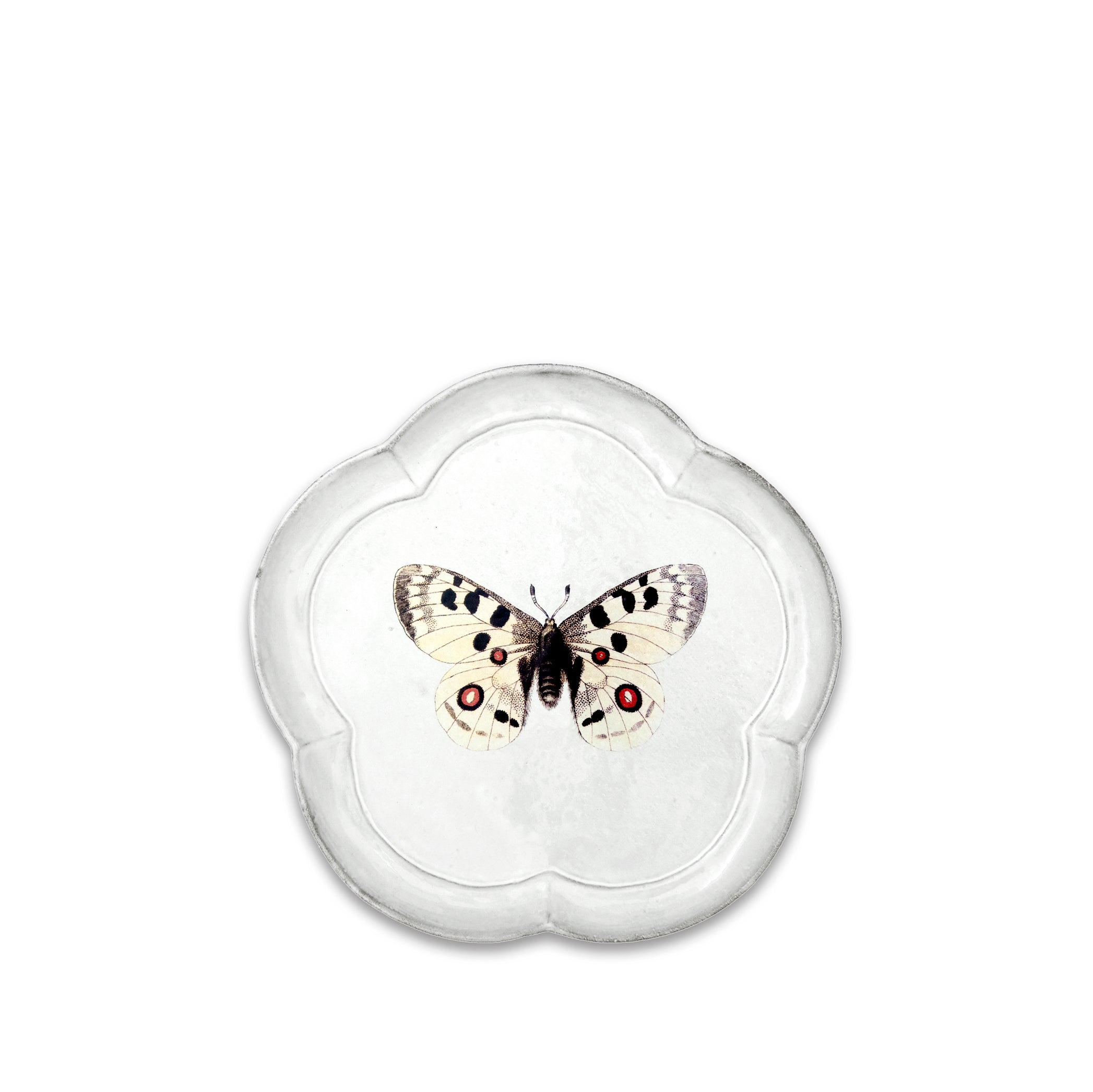 Apollo Butterfly Plate by Astier de Villatte
