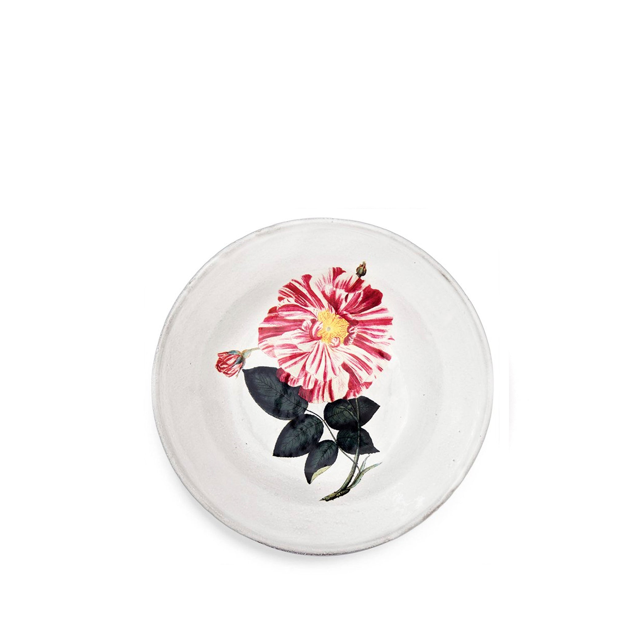 Rose Banco Deep Plate by Astier de Villatte
