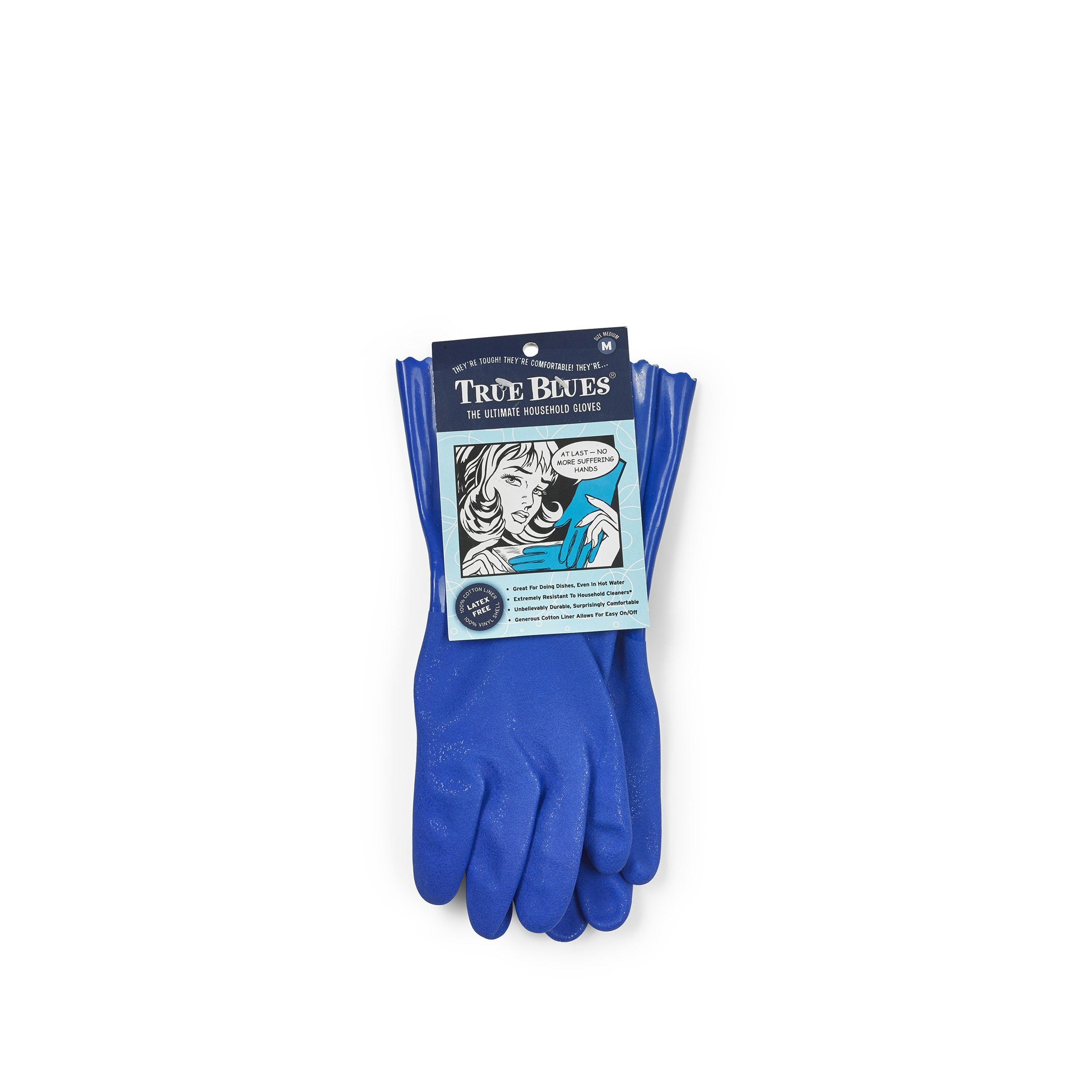 Household Blue Gloves, Medium