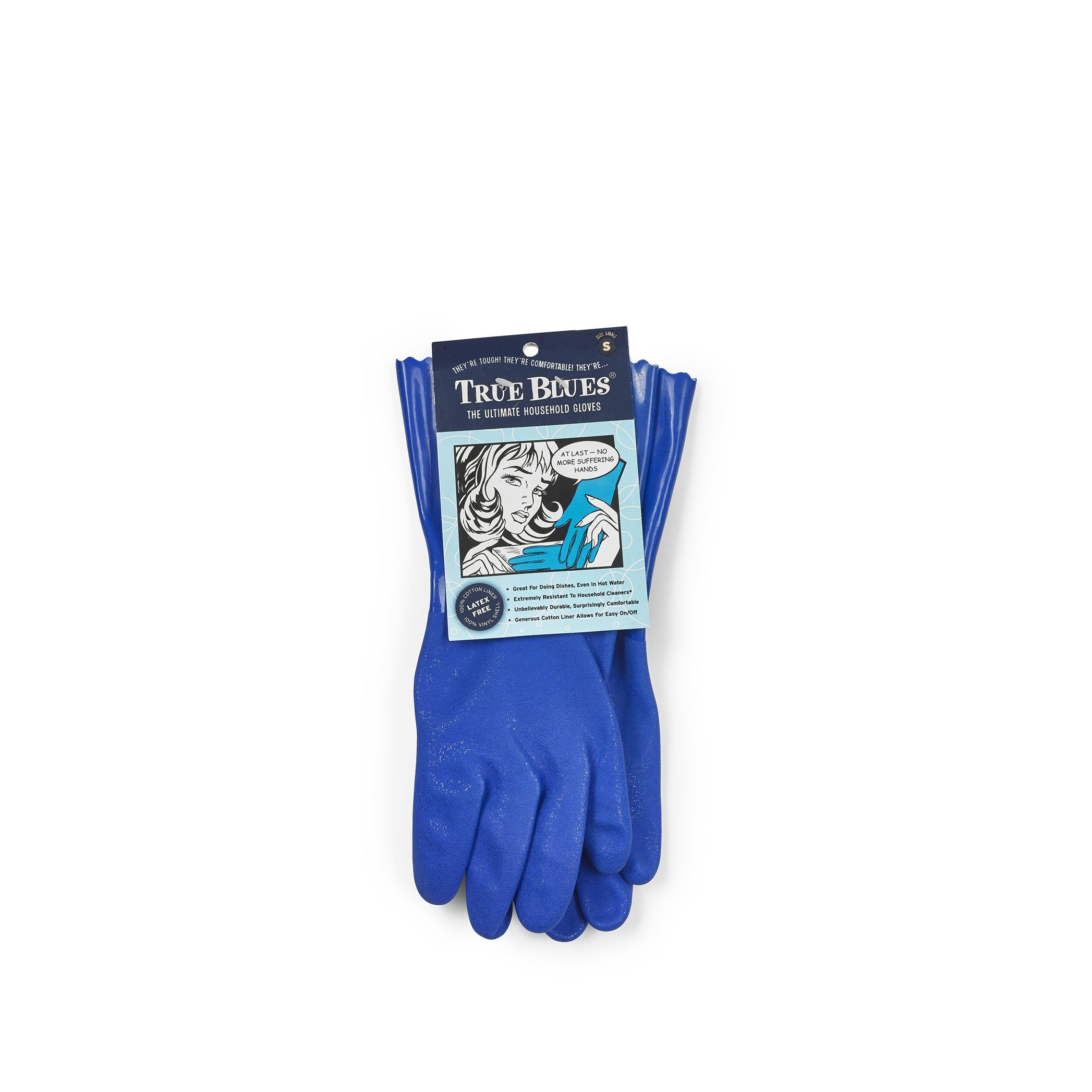 Household Blue Gloves, Small