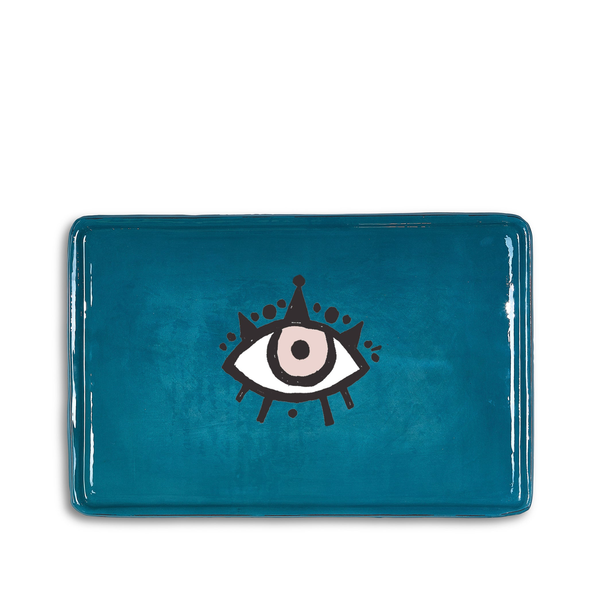 Ceramic Tray in Blue