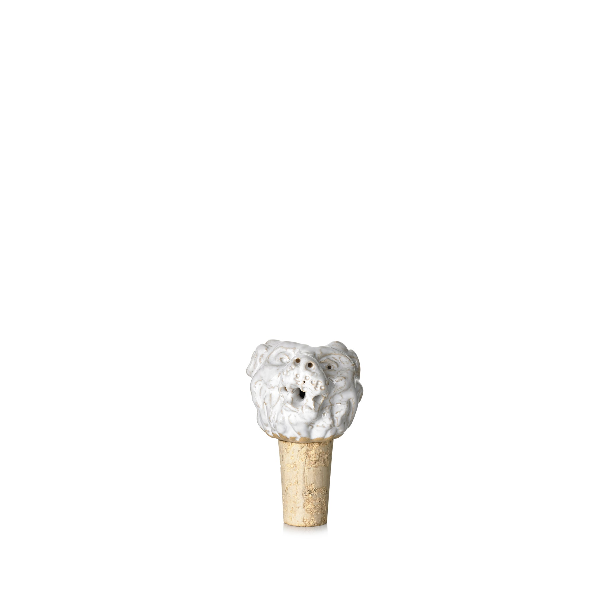 Leonis 'Lion' Ceramic Bottle Stopper