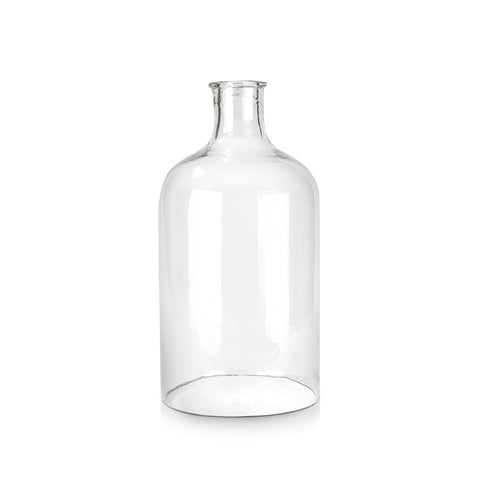 Recycled Bottomless Glass Bottle, Large