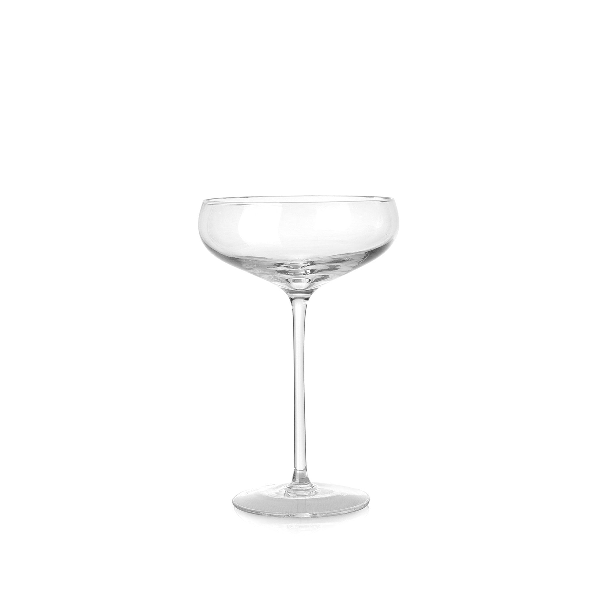 Hand Blown Champagne Coupe