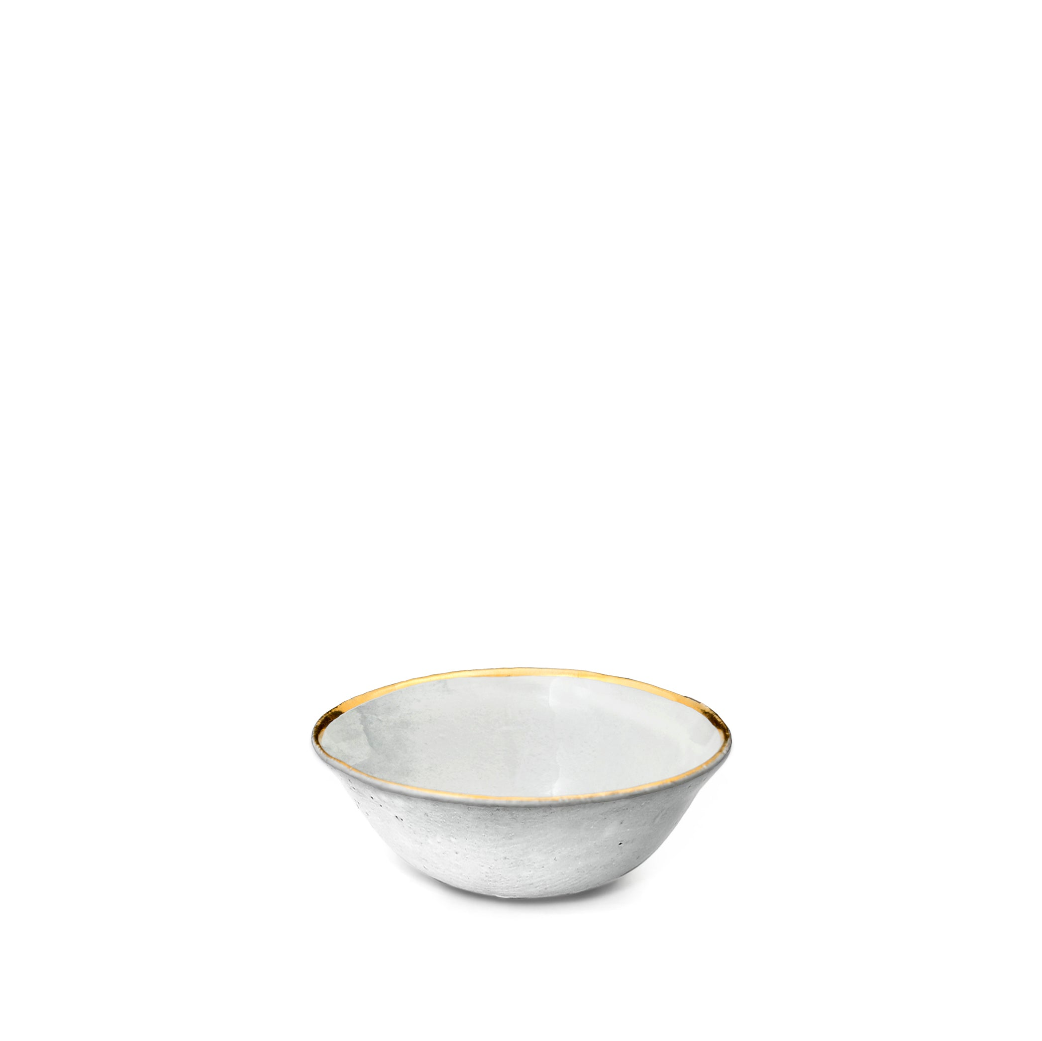 Crésus Soup Bowl with Gold Rim by Astier de Villatte