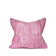 Kilim Cushion Cover in Rose Pink
