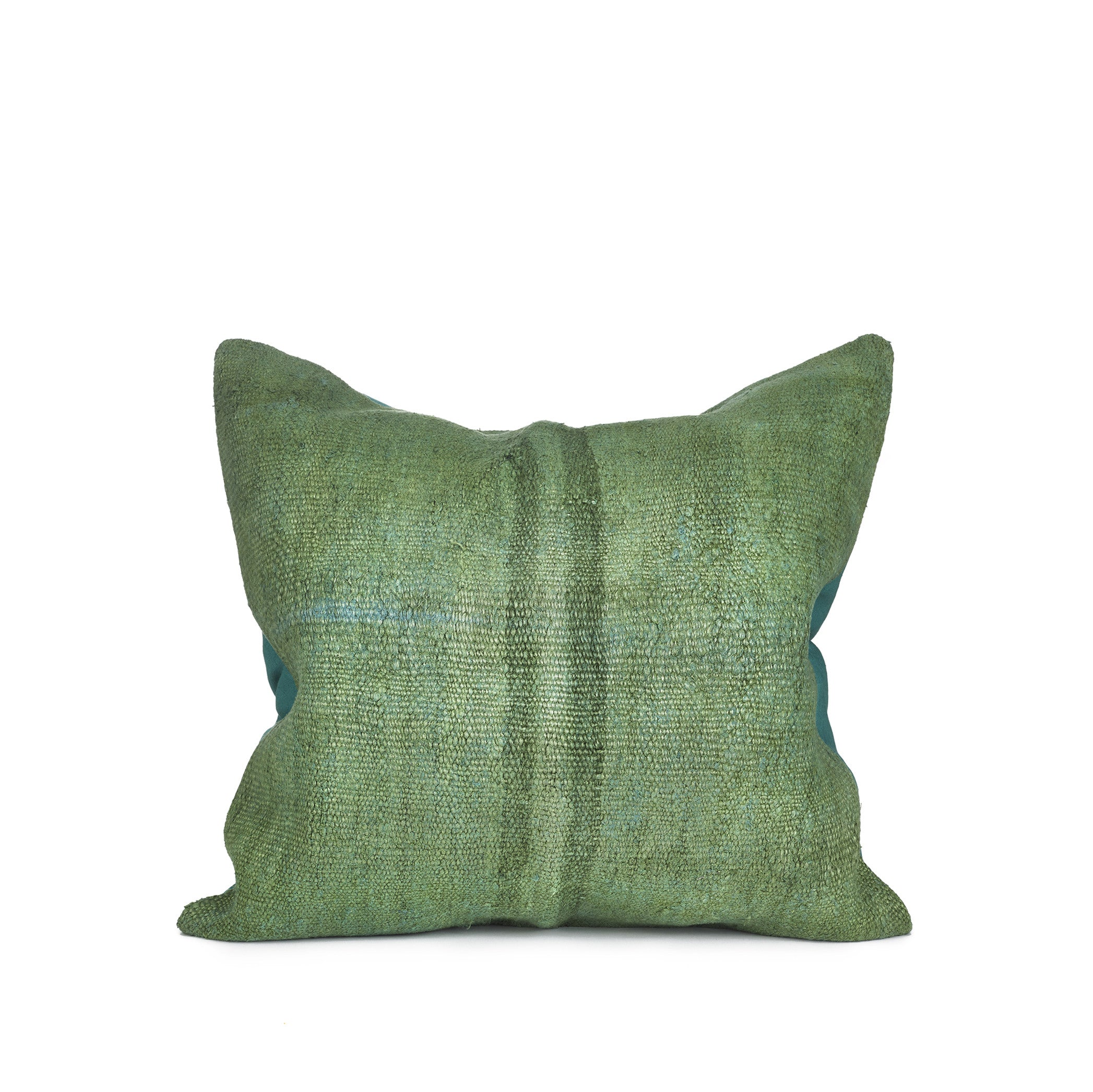 Kilim Cushion in Forest Green