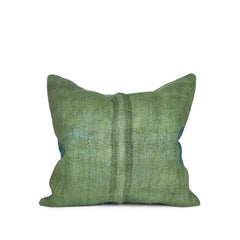 Kilim Cushion Cover in Forest Green