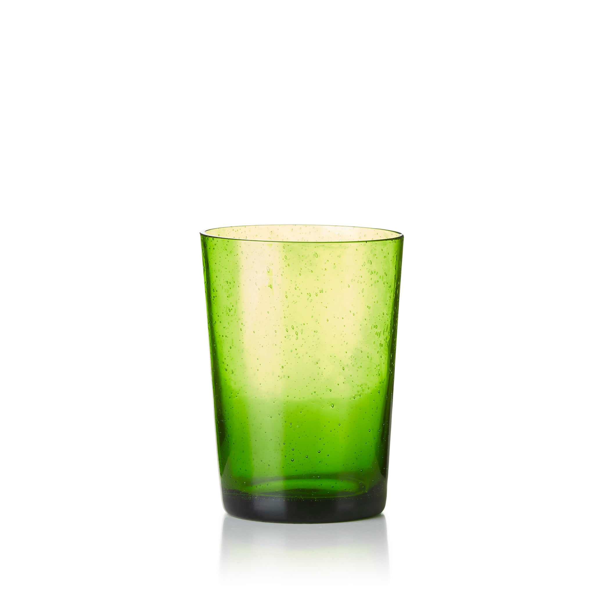 Handmade Glass Tumbler in Green