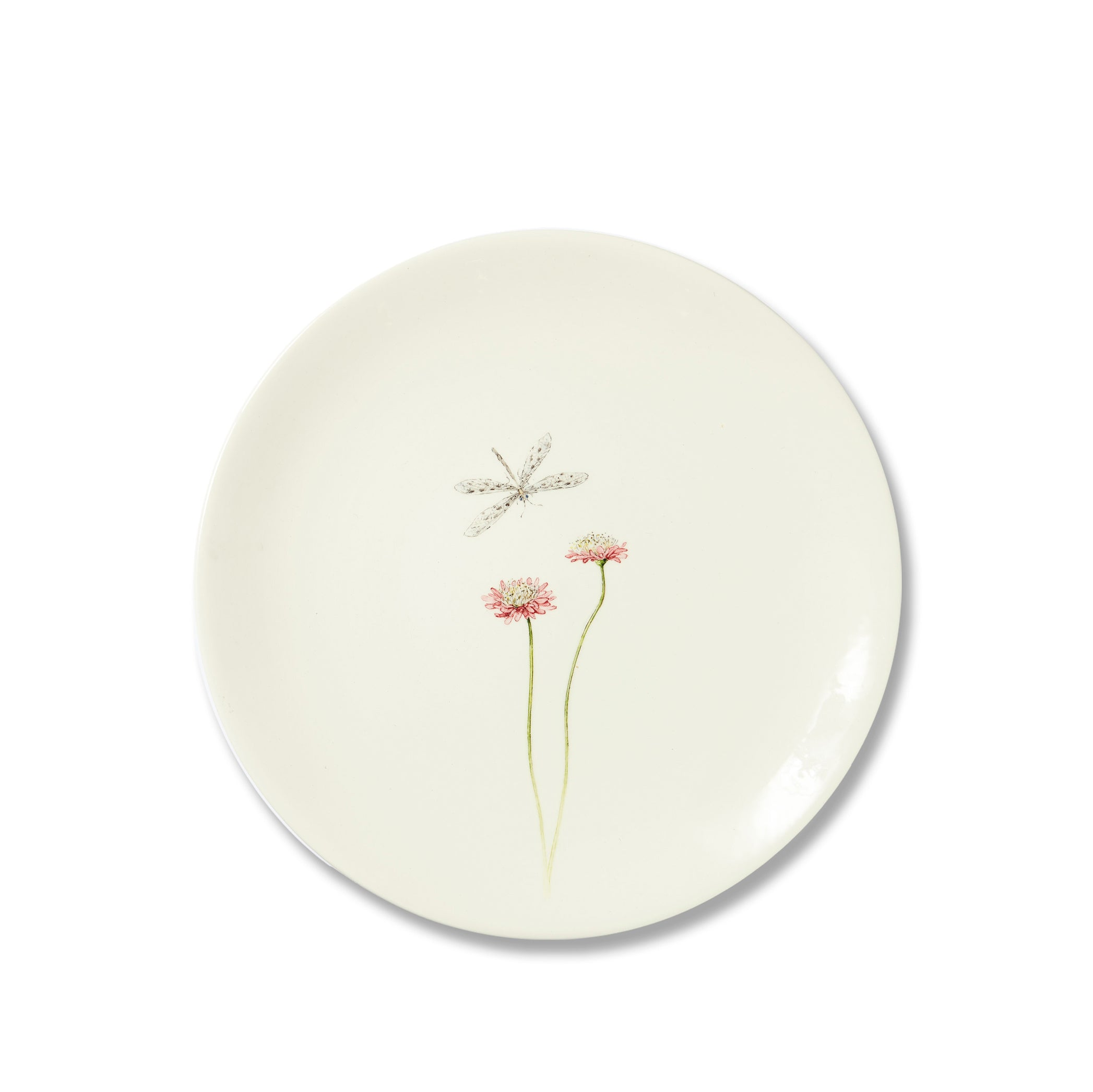 Bloom Pincushion Dinner Plate, 25cm