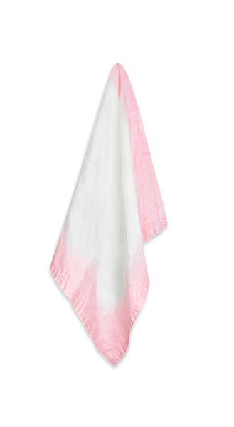 Fade Linen Napkin in Pink