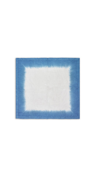 Fade Linen Napkin in Dark Blue