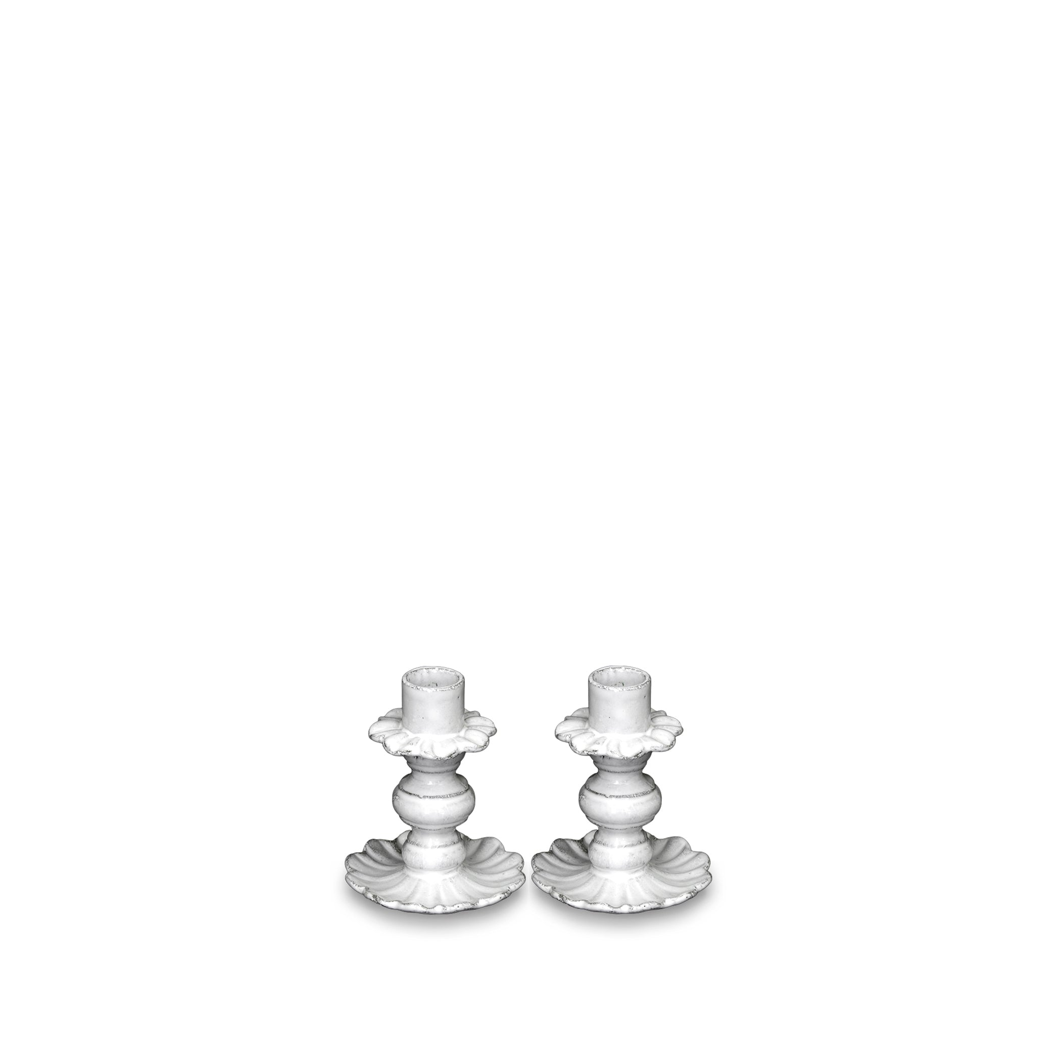 Pair of Fifi Candlesticks By Astier de Villatte