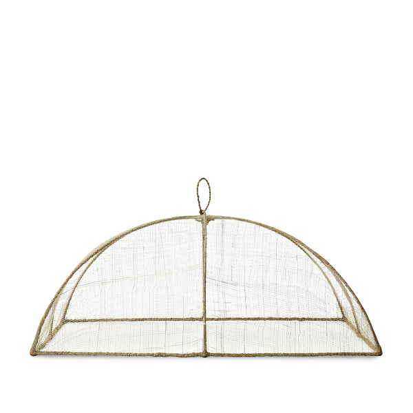 Linen Food Cover in Cream, Large