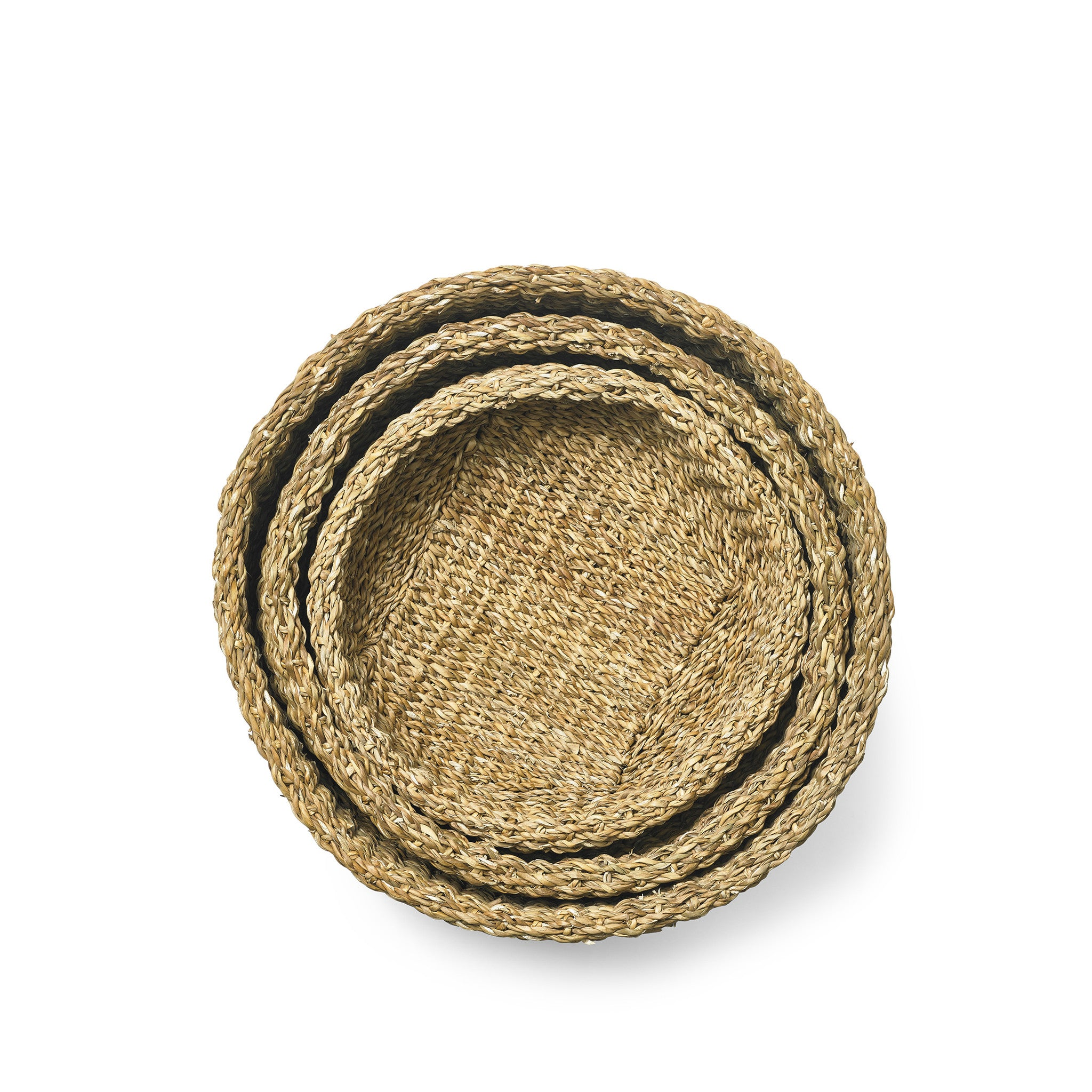 Seagrass and Coconut Fibre Basket, Large