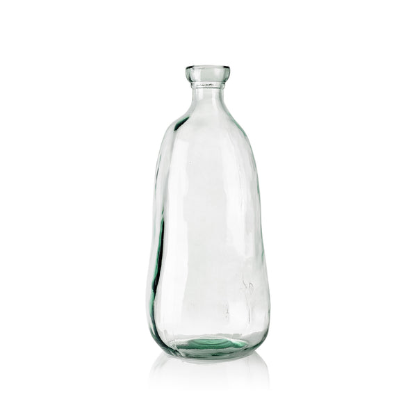 Recycled Glass Bottle, 51cm