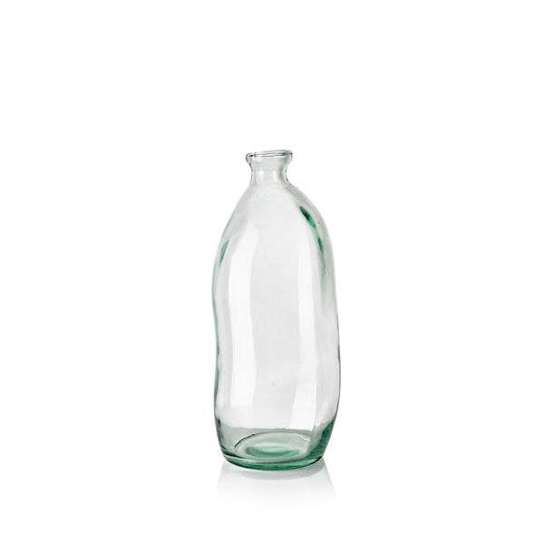 Recycled Glass Bottle, 35cm