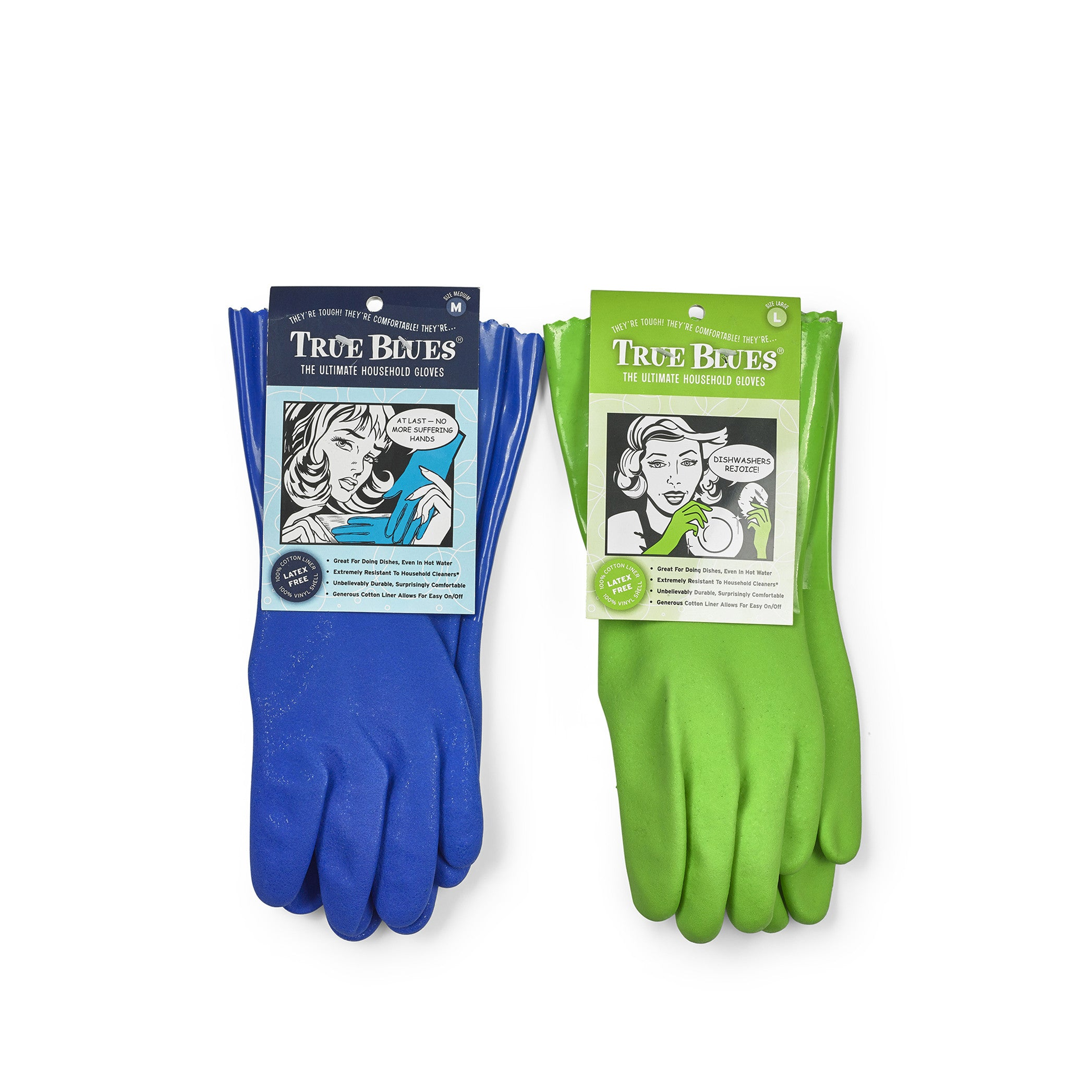 Household Green Gloves, Large
