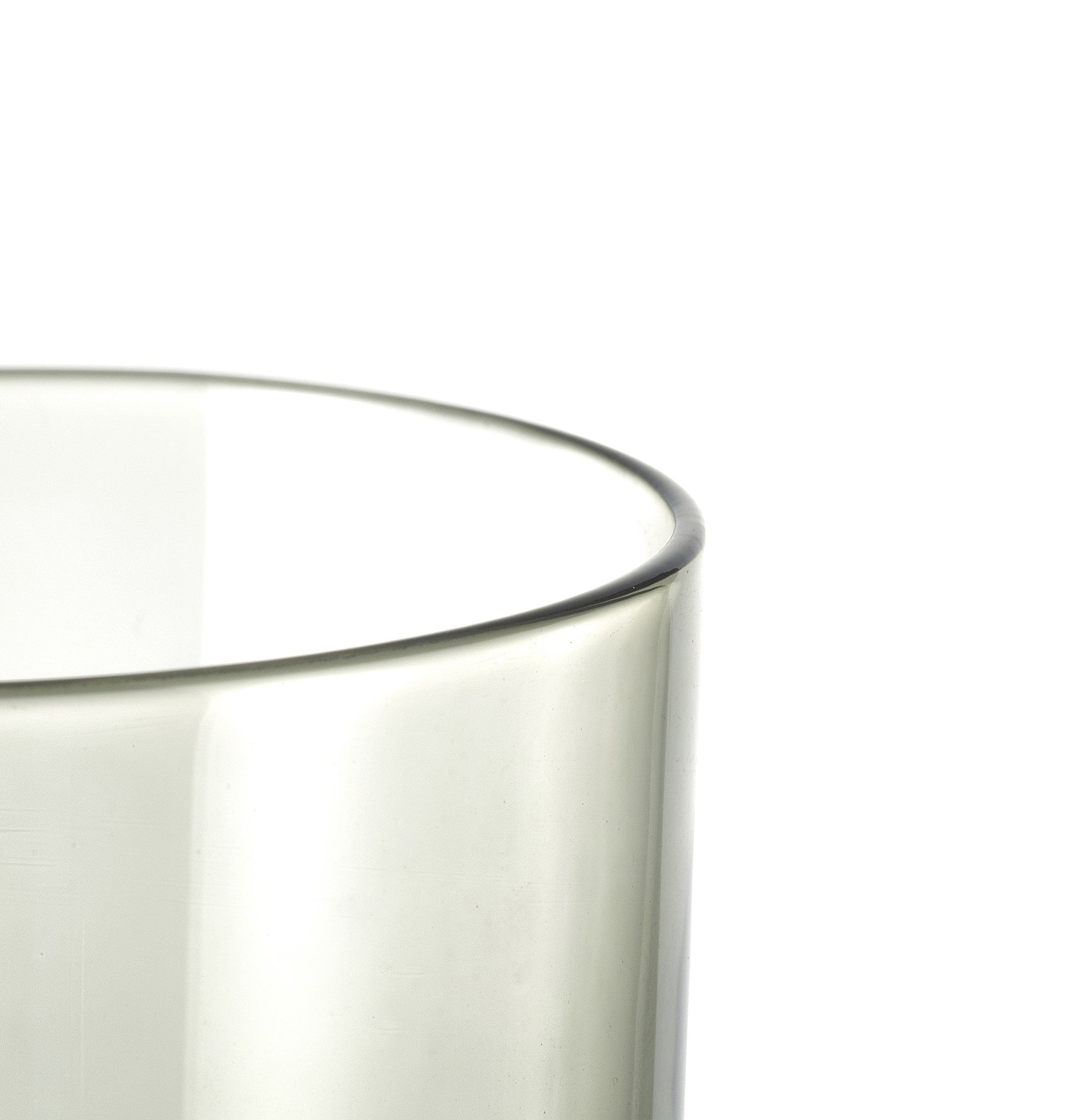 Grey Glass Tumbler