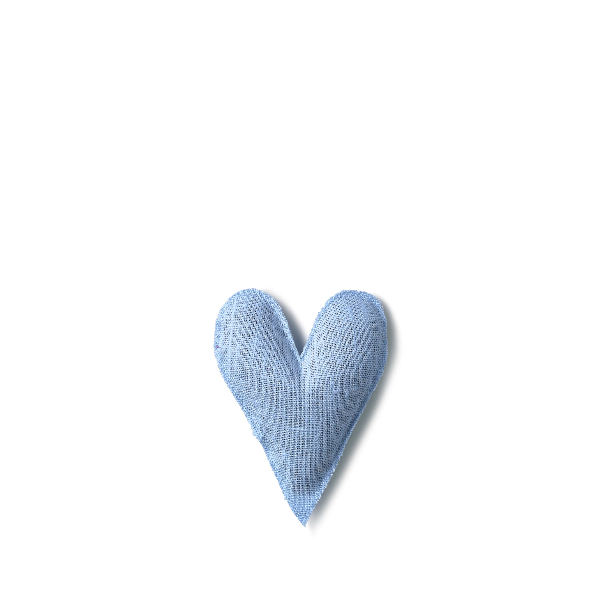 Lavender Heart in Light Blue
