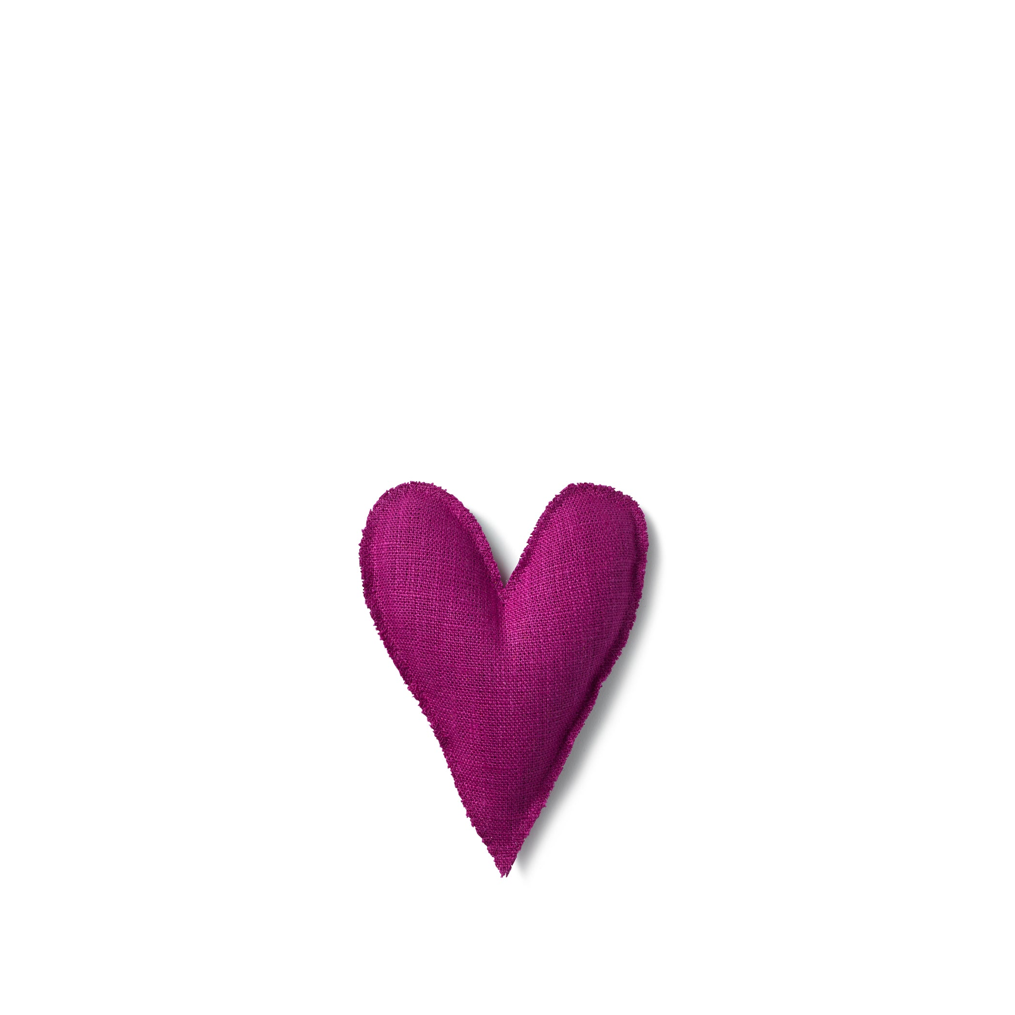 Lavender Heart in Fuchsia