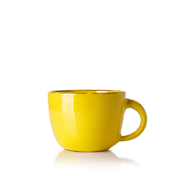 Hot Chocolate Mug in Yellow