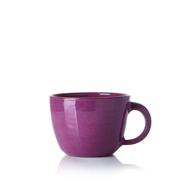 Hot Chocolate Mug in Purple