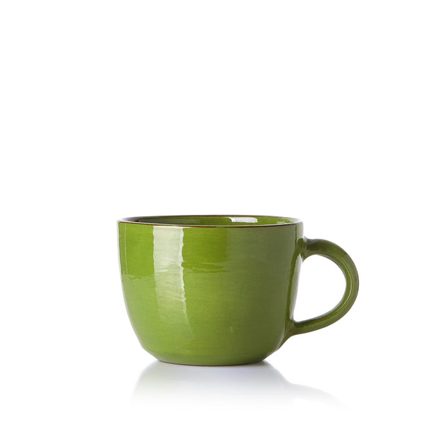 Hot Chocolate Mug in Green