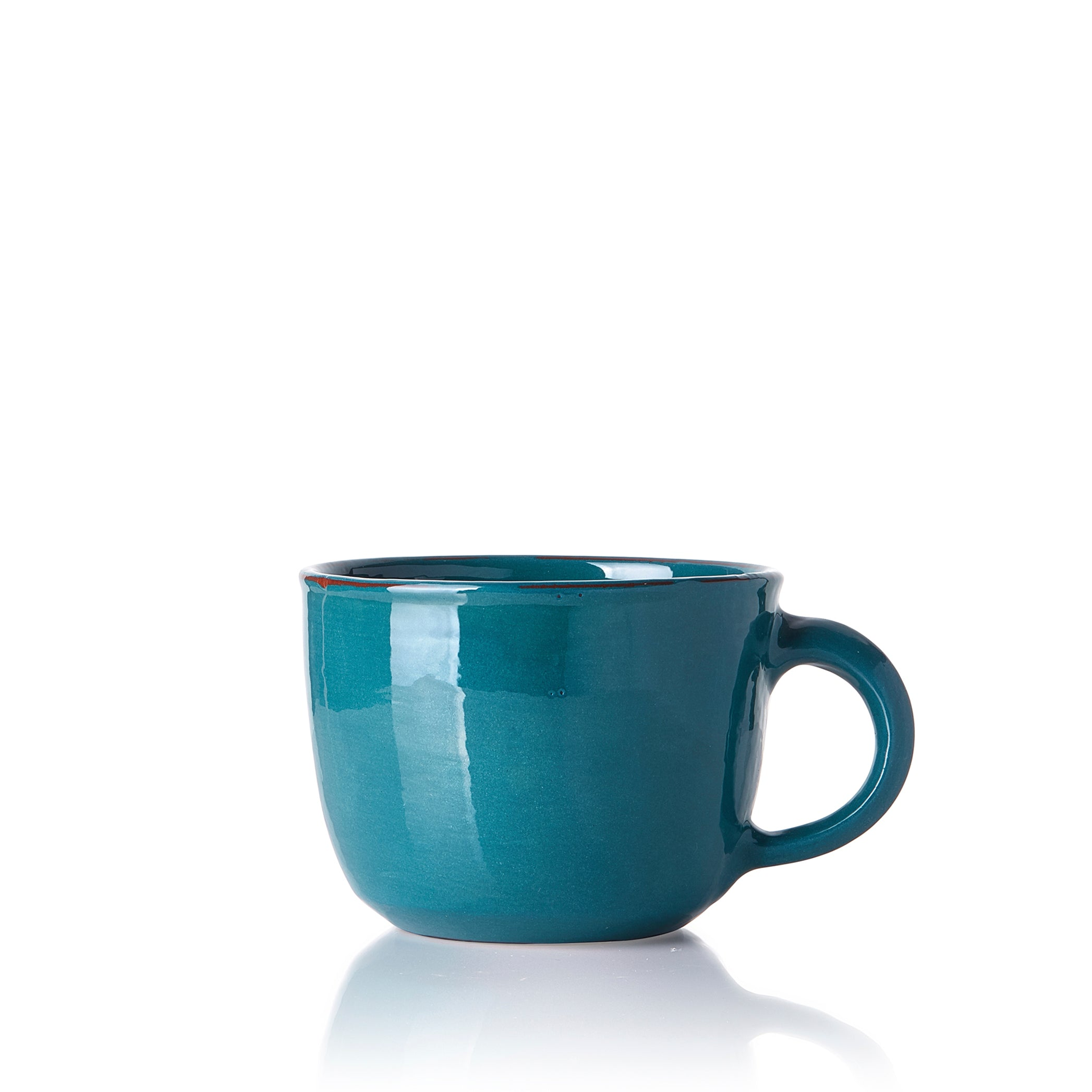 Hot Chocolate Mug in Blue